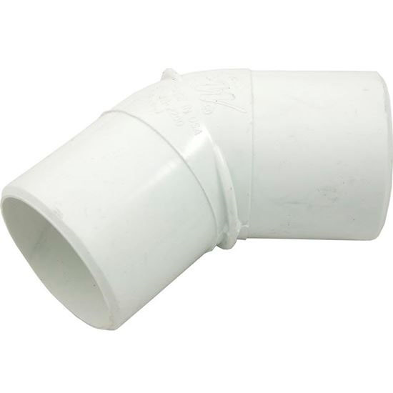 "Picture of 45 Elbow, 2"" Spigot x 2"" Spigot"