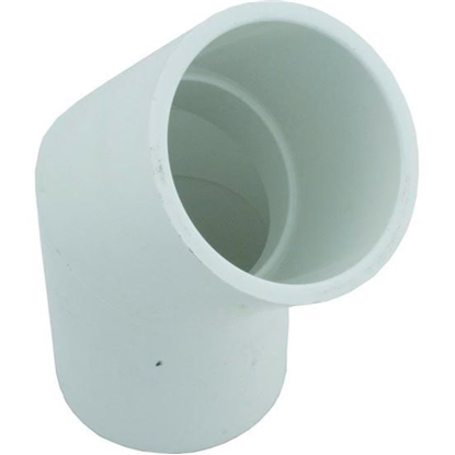 "Picture of 45 Elbow, 2-1/2"" Slip x 2-1/2"" Slip"