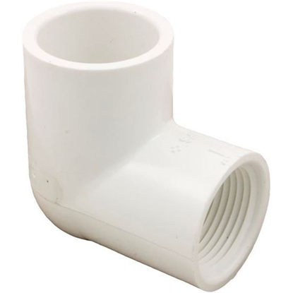 "Picture of 90 Elbow, 1"" Slip x 1"" Female Pipe Thread"