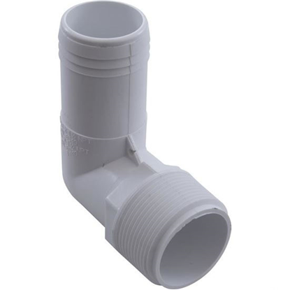 "Picture of 90 Elbow, 1-1/2"" Male Pipe Thread X 1-1/2"" Barb 411-6520"
