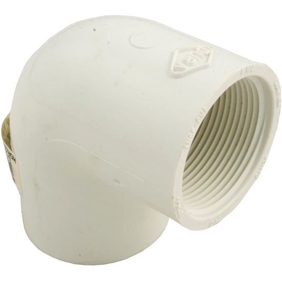 "Picture of 90 Elbow, 1-1/2"" Slip x 1-1/2"" Female Pipe Thread"