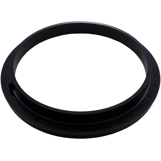 "Picture of Adapter Collar, 8"" Round, Adj, Pentair Sump, Black Ds102"