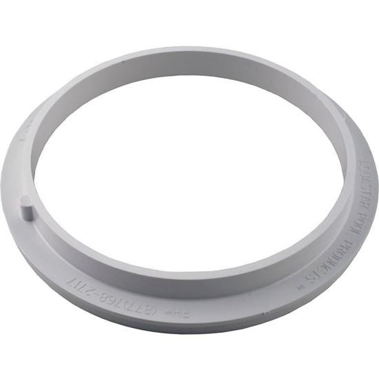 "Picture of Adapter Collar, 8"" Round, Adj, Pentair Sump, White Ds101"