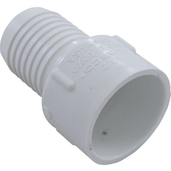 "Picture of Adapter, 1-1/2"" Slip x 1-1/2"" Ribbed Barb (rb) 474-015"