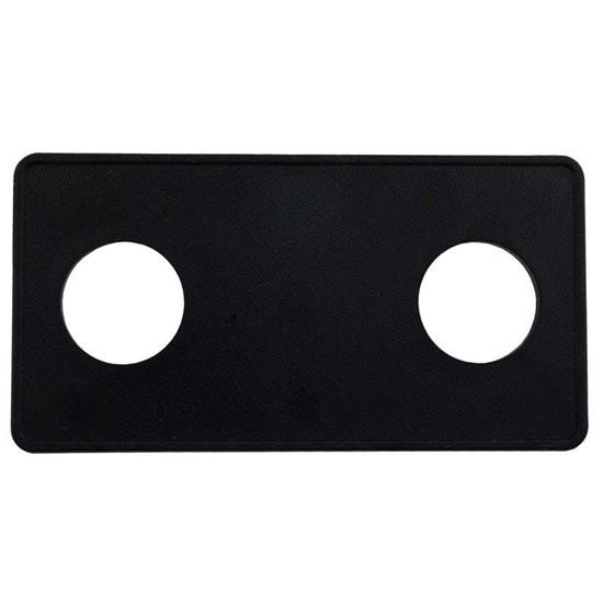 Picture of Air Button Deckplate, Len Gordon 15 Classic Touch, 2 Button 951522-000