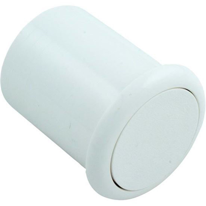 "Picture of Air Button, Presair, Flush, 1-1/2"" Hole Size, White B318wa"