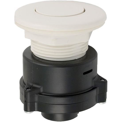 Picture of Air Button: 3242 Flush White- MPT-01010-3242