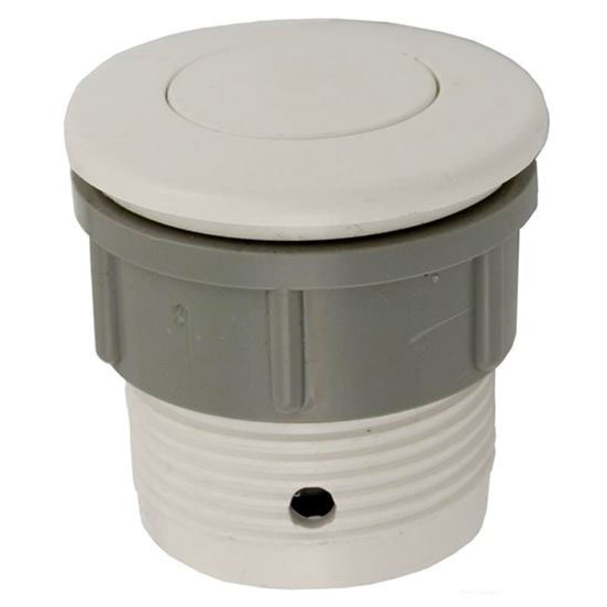 """Picture of Air Button, Ww, Flush, 1-1/2""""hs, 2""""fd White 650-3000"""