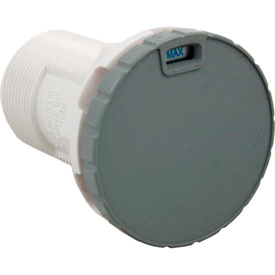 """Picture of Air Ctrl, Bwg/Hai Slimline, 1-3/4""""hs, 2-1/2""""fd, Nchd, Gry, 1"""" 10-2310gry"""