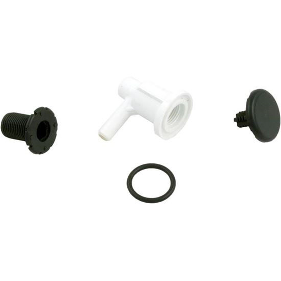 "Picture of Air Injector Ww Low Profile 3/8""sb Elbow Style Black 670-2201"