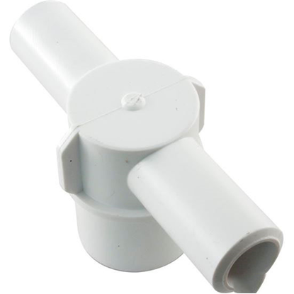 "Picture of Barb Tee, 3/4"" Smooth Barb X 3/4"" Smooth Barb X 1"" Spigot 413-1920"