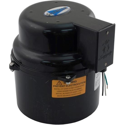 Picture of Blower, Air Supply Silencer, 1.0hp, 115v, 4.9a, Hardwire 6310141
