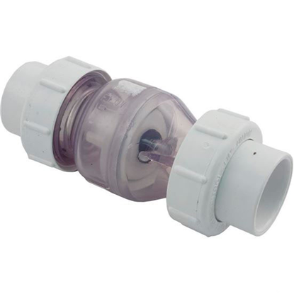 "Picture of Check Valve, Flo Control, Spring, 1-1/2""s, 1/2 lb, True Union 1700C15"