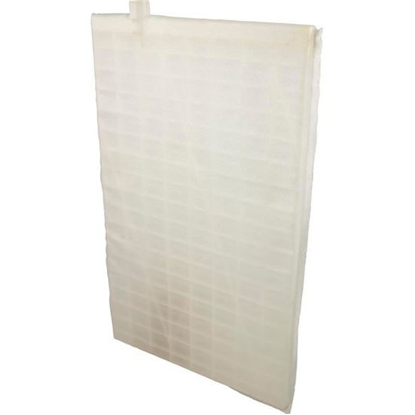 """Picture of Diatomaceous Earth Grid, Rectangular, 18"""" X 11"""", Offset Port Fc-9870"""
