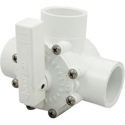 "Picture of Diverter Valve, Grid Controls, 1-1/2"" Slip/2"" Spigot, 3 Port 03000"