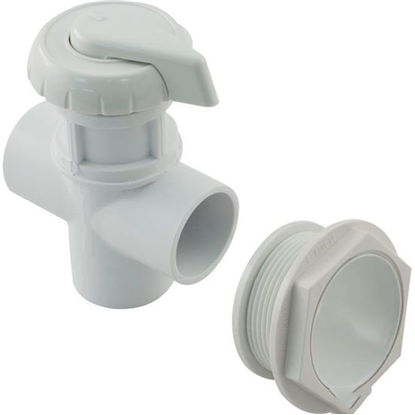 "Picture of Diverter Valve, Hydro-Air/Bwg Hydroflow, 1""s, 2 Port, White 11-4020-Wh"