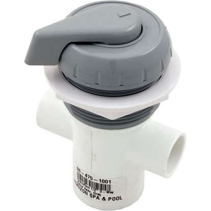 "Picture of Diverter Valve, Hydro-Air/Bwg Hydroflow, 1/2""s, 2 Port, Gray 11-4040gry"