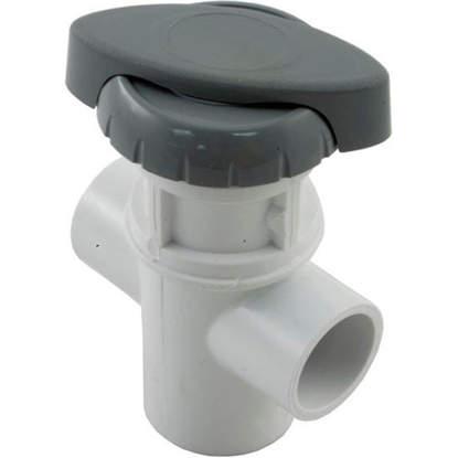 """Picture of Diverter Valve, Hydro-Air/Bwg Hydroflow, 3/4""""s, 2 Port, Gray 11-4030gry"""