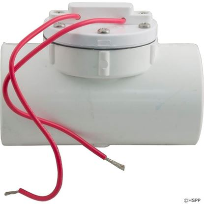 """Picture of Flow Switch Aqualarm 8-12 GPM,1/2 Amp, 1-1/2"""" Female Pipe Thread 1a 206-Pvc-Not"""