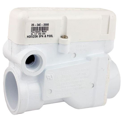 Picture of 57-F3-2500-Wht Flow Switch: 1-1/2' Pvc Slip Connection 25amp Grid Model 25-57-F3-2500-Wht
