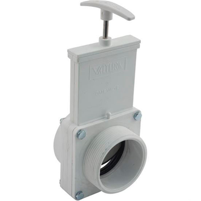 """Picture of Gate Valve, 3 Pc, Ss Paddle, Valterra, 3""""fpt X 3""""mpt, 30psi 4308"""