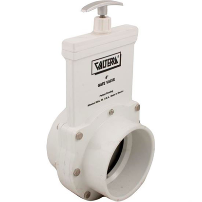 """Picture of Gate Valve, 3 Pc, Ss Paddle, Valterra, 4""""s X 4""""s, 20psi 6401"""