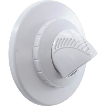 "Picture of Inlet Fitting, Infusion Vent., 1"" Insider Glueless, W/Flg, Wht Vrfsaf1wh"