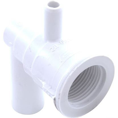 Picture of 212-0550 Ozone Jet Part: 3/8' Smooth Barb X 3/4' Smooth Barb Cluster Ell Body With Nozzle -212-0550