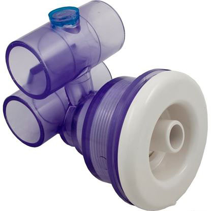 Picture of Jet Assembly: 1' Slip Air X 1' Slip Water Converta'Ssage- 10-4500WHT