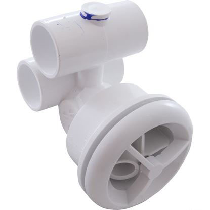 Picture of Jet Assembly: 1' Slip Air X 1' Slip Water Micro'Ssage White - 16-5200wht