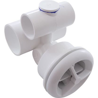 Picture of Jet Assembly: 1' Slip Air X 1-1/2' Slip Water Micro'Ssage White - 16-5250WHT