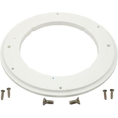 "Picture of Adapter Ring Anti-Hair Snare 8"" Round W/ Screws White Adp-2800"