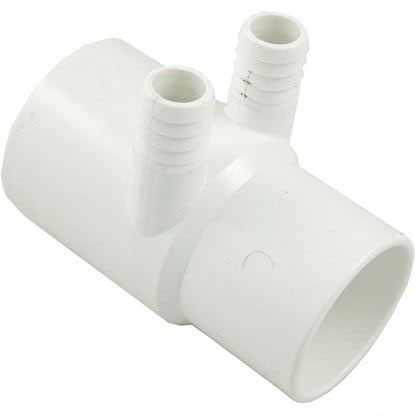 """Picture of Manifold, 3/4""""b, 2 Port, Flow Thru, 2""""s X 2""""spg, Sp 672-7130"""