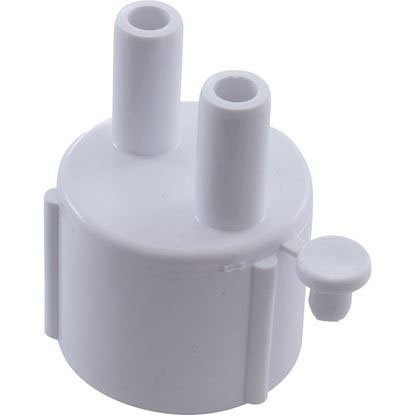 """Picture of Manifold, 3/8"""" Smooth Barb, 2 Port, Transition, 1"""" Slip 672-4020"""