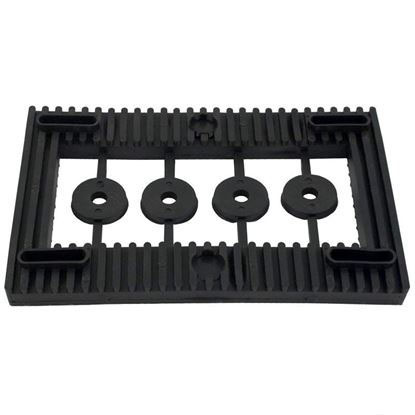 Picture of 319-0019 Motor Mount Base: 48 Frame Rubber Self-Aligning-319-0019