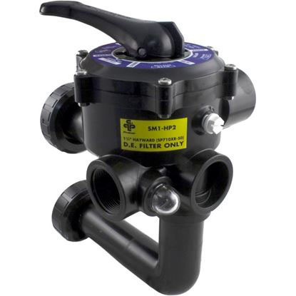 "Picture of MPV, Praher SM1-HP2, 1-1/2"", w/Hayward Plumbing, 6 Position"