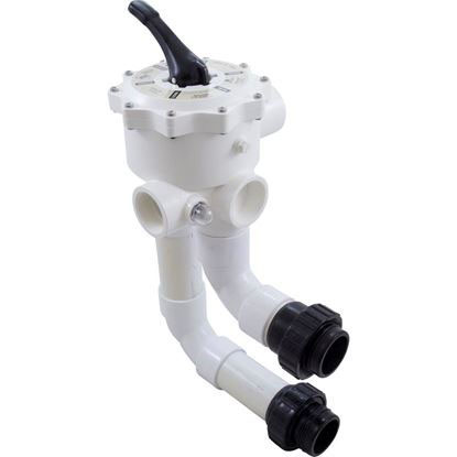 """Picture of Multiport Valve Waterway Sm Ultraclean Pro 2""""s W/Unions Wvd002ucp"""
