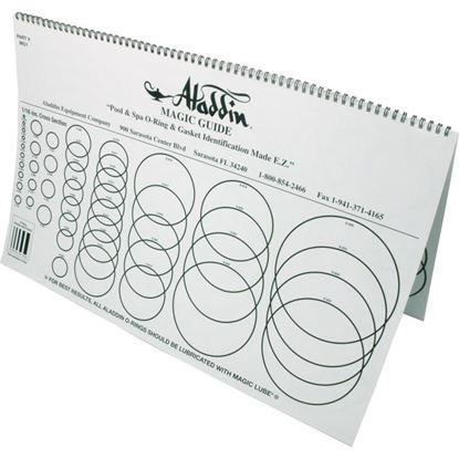 Picture of O-Ring Chart Aladdin MG1