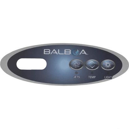 Picture of Overlay, Balboa Water Group Duplex Mini Oval, Jet/Light, Lcd 11219