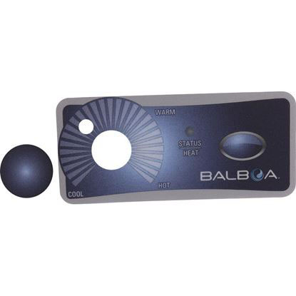 Picture of Overlay, Balboa Water Group Duplex, 1 Button/Knob 10313