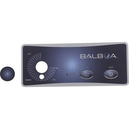 Picture of Overlay, Balboa Water Group Duplex, 2 Button/Knob 10317