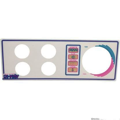 Picture of Overlay, Len Gordon Aquaset 4001/4002-4-SS, 4 Button