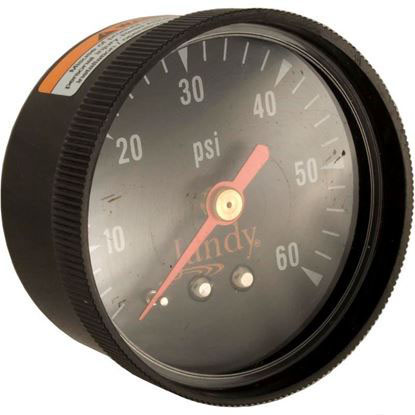 "Picture of Pressure Gauge, Zodiac Jandy, 1/4""mpt, 0-60psi, Back Mount R0359600"