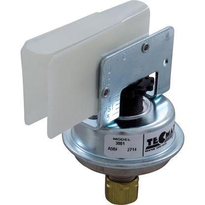 """Picture of Pressure Switch , 25A, Tecmark, 1/4""""Comp, SPNO 3001"""