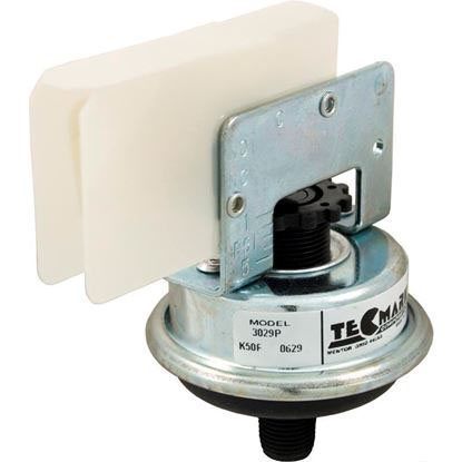 "Picture of Pressure Switch , 25a, Tecmark, 1/8""mpt, Spno, Plastic 3029p"