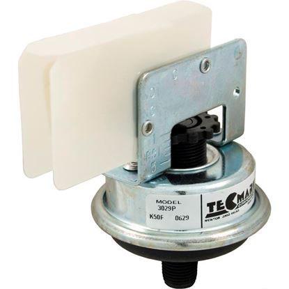 """Picture of Pressure Switch 3029P 25A Tecmark 1/8""""mpt SPNO Plastic 3029P"""