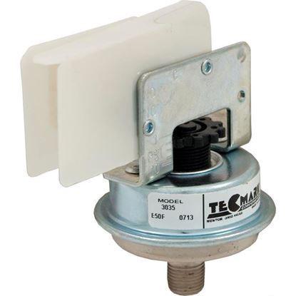 """Picture of Pressure Switch 3035 25A Tecmark 1/8""""mpt SPNO 1-10 PSI 3035"""