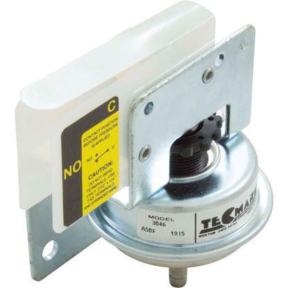 "Picture of Pressure Switch 3046 25A Tecmark 1/8""b SPNO Z Bracket 3046"