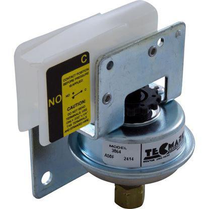 """Picture of Pressure Switch , 25A, Tecmark, 3/16""""Comp, SPNO 3064"""