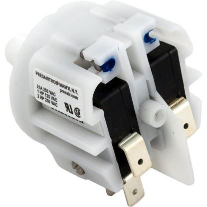 "Picture of Pressure Switch, PresAirTrol, Thd Stem, 21A, 1/8""mpt, DPDT"